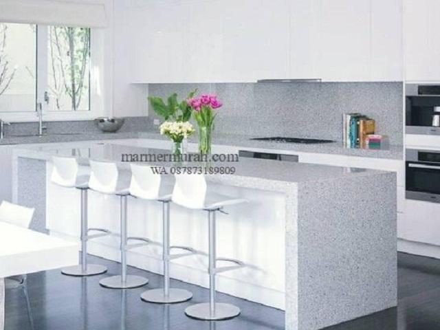 Meja_Granit_Putih_bintik_hitam_Meja_Dapur_Meja_Kitchen_Meja_